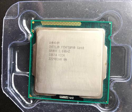 Процессор Intel s1155 Pentium G640 2x2.8GHz SR059 б/у