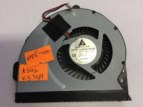 Вентилятор для ноутбука Asus K53SM 4Pin б/у