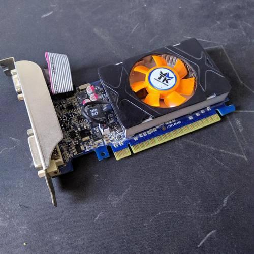 Видеокарта TK GeForce GT520 1Gb DDR3 64Bit VGA/DVI/HDMI б/у