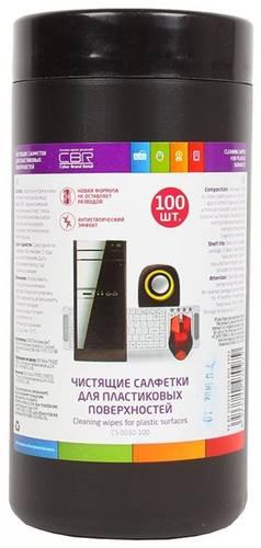 Салфетки CBR CS 003-100 в тубе 100шт.