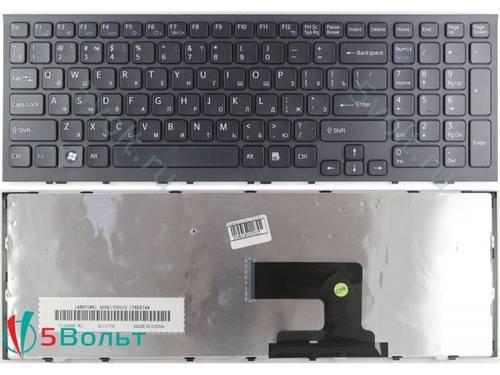 Клавиатура для ноутбука Sony Vaio VPC-EH черная б/у