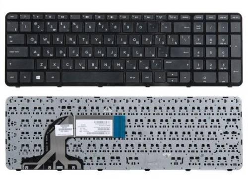 Клавиатура для ноутбука HP Pavilion 15 15-A 15-E 250-G3 255-G3 15-N с рамкой черная б/у