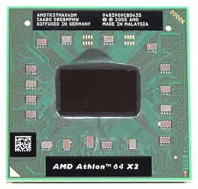 Процессор для ноутбука AMD sS1(S1g1) Athlon 64 X2 2x1.9 GHz AMDTK57HAX4DM б/у
