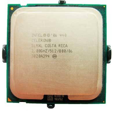 Процессор Intel s775 Celeron 2.0GHz SL9XL б/у