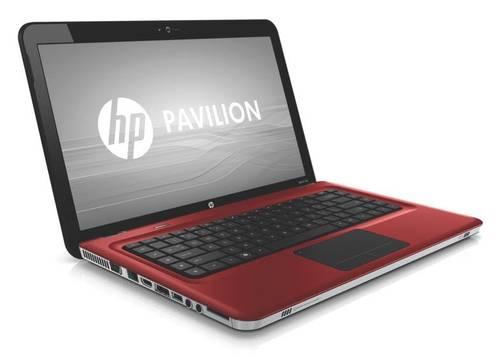 Корпус для ноутбука HP G6-3108ER красный б/у