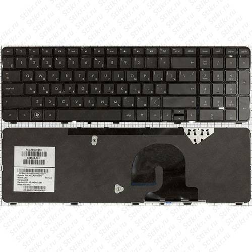 Клавиатура для ноутбука HP dv7-4000 dv7-5000 с рамкой черная б/у