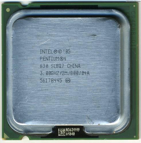 Процессор Intel s775 Pentium 4 2x3.00GHz SL8Q7 б/у
