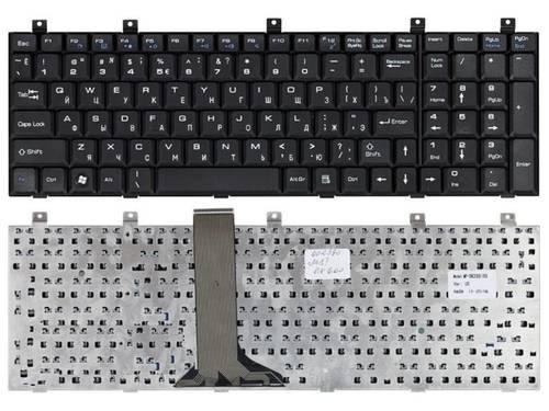 Клавиатура для ноутбука MSI CX600 б/у