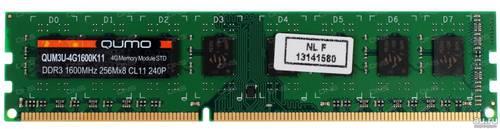 Оперативная память DDR3 2Gb 1600Mhz Qumo б/у