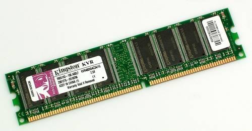 Оперативная память DDR1 1Gb 400MHz Kingston б/у