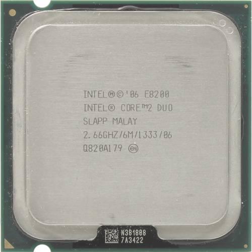 Процессор Intel s775 Core 2 Duo E8200 2x2.66GHz SLAPP б/у