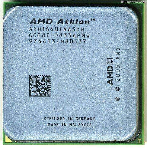 Процессор AMD sAM2 Athlon 64 LE-1640 2.6GHz ADH1640IAA5DH б/у