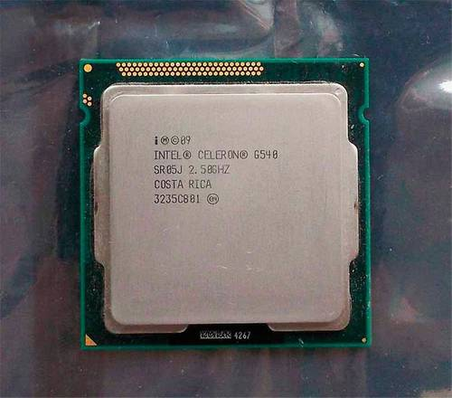Процессор Intel s1155 Celeron G540 2x2.5GHz SR05J б/у