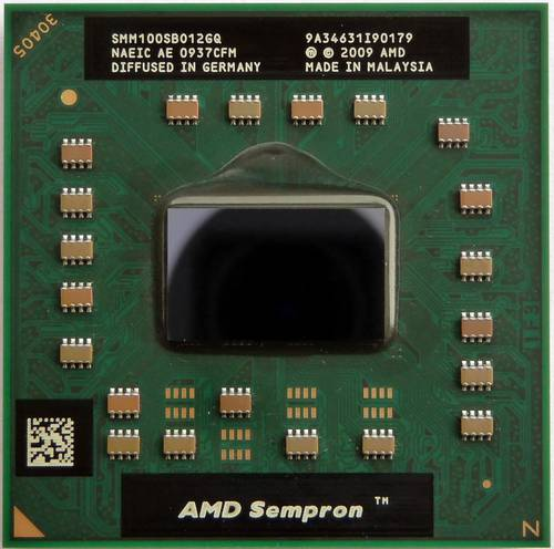 Процессор для ноутбука AMD sS1 (S1g3) Sempron M100 2.0GHz SMM100SBO12GQ б/у