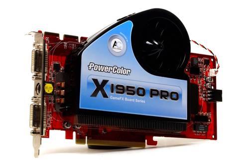 Видеокарта PCI-E Radeon X1950 256Mb DDR3 256Bit 2xDVI-I/TV-OUT Powercolor б/у