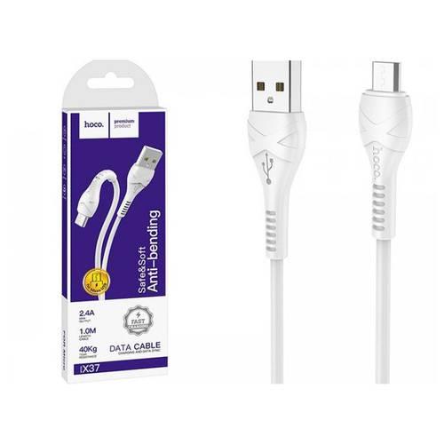 Кабель micro-USB Hoco X37 белый