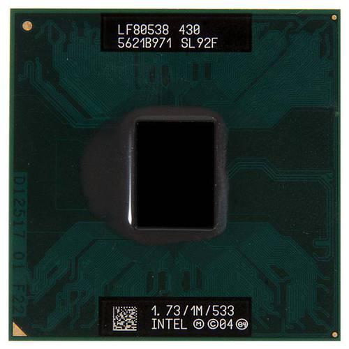 Процессор для ноутбука Intel sPPGA478 Celeron M430 1.73GHz SL92F б/у