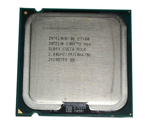 Процессор Intel s775 Core 2 Duo E7400 2x2.80GHz SLB9Y б/у
