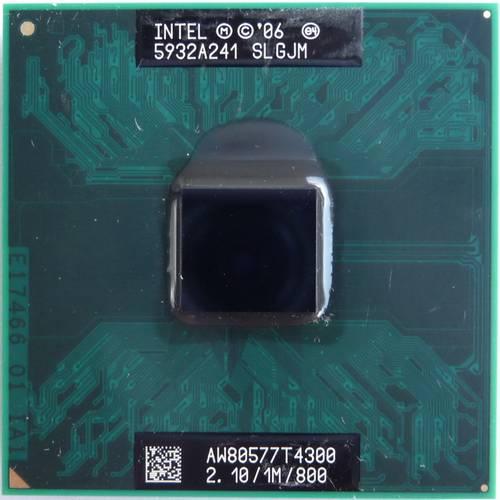 Процессор для ноутбука Intel sPGA478 Pentium T4300 2x2.10GHz SLGJM б/у