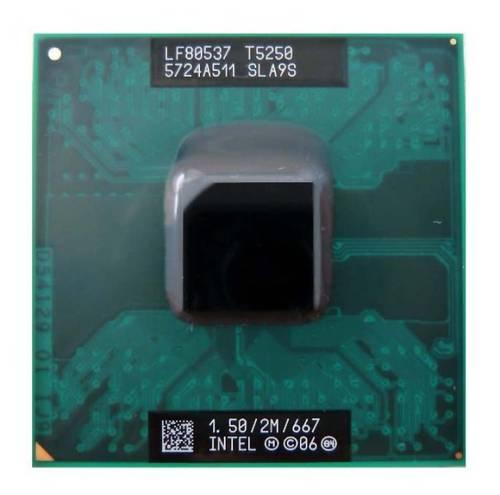 Процессор для ноутбука Intel sPPGA478 Core2 Duo T5250 2x1.50GHz SLA9S б/у