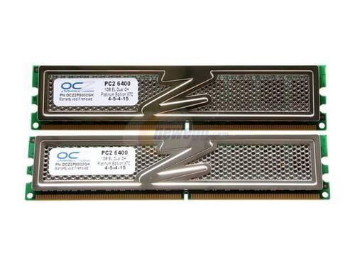Оперативная память DDR2 2Gb 800MHz OSZ б/у