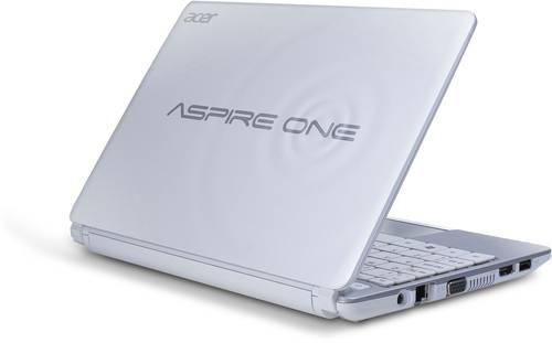 Корпус для ноутбука Acer D270 белый б/у
