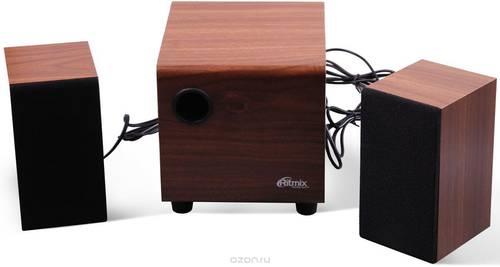 Колонки Ritmix 2.1 SP-2150w дерево USB