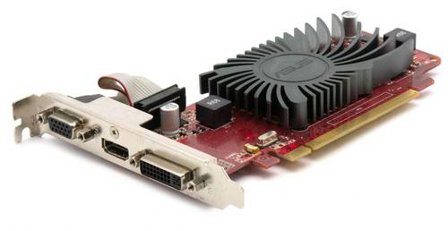 Видеокарта AMD Radeon HD5450 512Mb DDR3 64Bit VGA/DVI/HDMI б/у