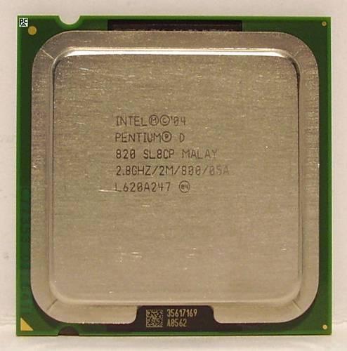 Процессор Intel s775 Pentium D 2x2.86GHz SL8CP б/у