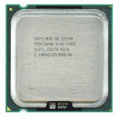 Процессор Intel s775 Pentium E5300 2x2.6GHz SLGTL б/у