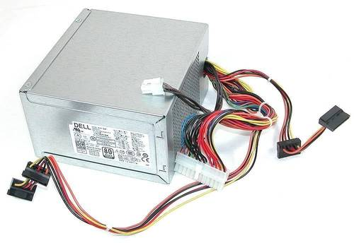 Блок питания 300W 20+4+4Pin Molex/SATA Dell б/у