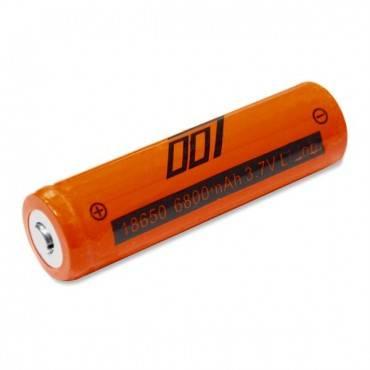 Аккумулятор 18650 (3.7V 6800mAh) оранжевый