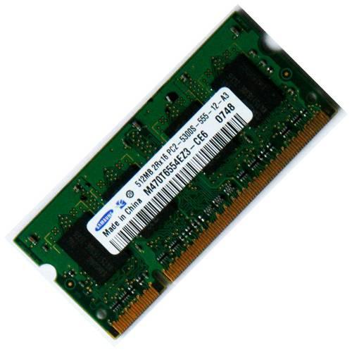 Оперативная память SO-DIMM DDR2 512Mb 667MHz Samsung б/у