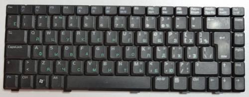 Клавиатура для ноутбука Asus A8 W3 Z99 черная б/у