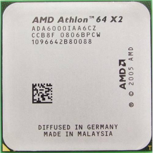 Процессор AMD sAM2 Athlon 64 X2 2x3.0 GHz ADX6000IAA6CZ б/у