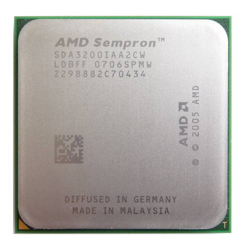 Процессор AMD sAM2 Sempron 64 3200+ 1.8GHz SDA3200IAA2CW б/у