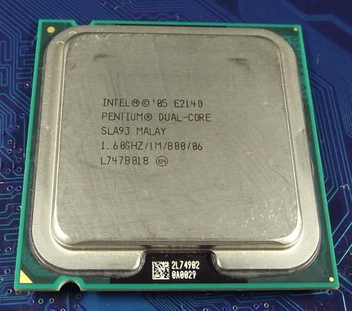 Процессор Intel s775 Pentium E2140 2x1.6GHz SLA93 б/у