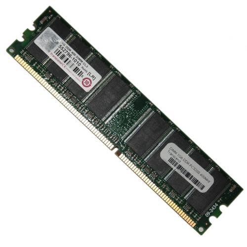 Оперативная память DDR1 1Gb 400MHz Transcend б/у