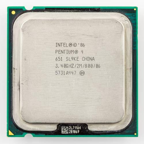 Процессор Intel s775 Pentium 4 651 2x3.4GHz SL9KE б/у
