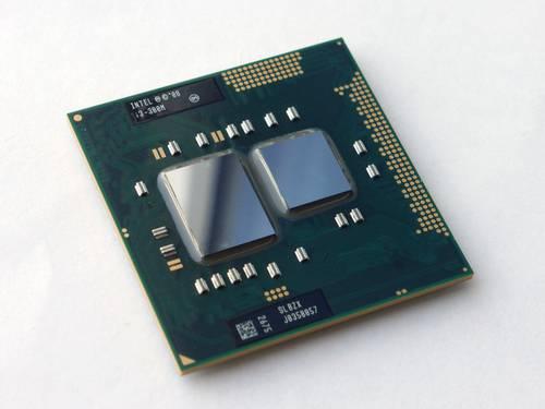 Процессор для ноутбука Intel sPGA988 Core i3-380M 2x2.53GHz SLBZX б/у