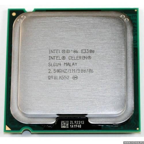 Процессор Intel s775 Celeron E3300 2x2.6GHz SLGU4 б/у