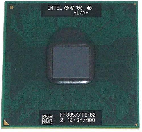 Процессор для ноутбука Intel PGA478 Core 2 Duo T8100 2x2.1GHz SLAYP б/у