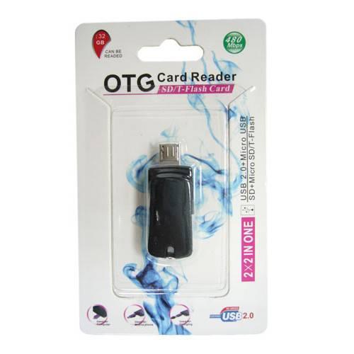 Картридер USB OTG/microSD/TF TD-521 Орбита