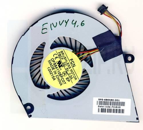 Вентилятор для ноутбука HP Envy 4-1000 Envy 6-1000 series 4Pin б/у