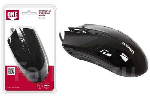 Мышь USB Smartbuy ONE 339 черная