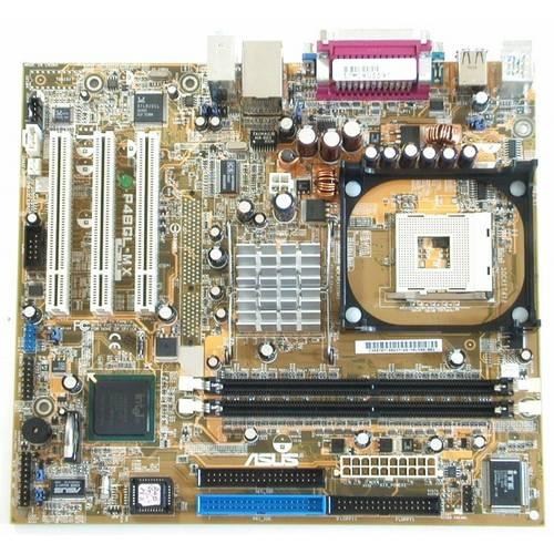 Материнская плата Asus P4BGL-MX s478/2xDDR1/2xIDE/SVGA б/у