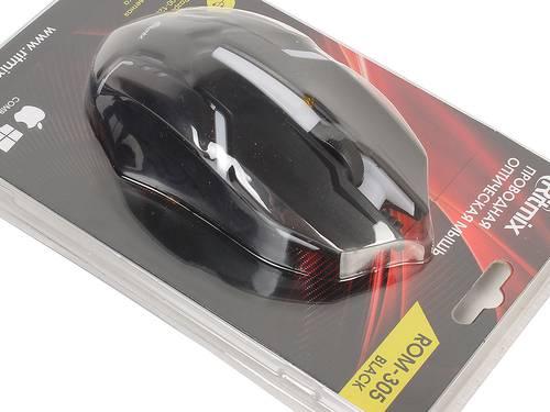 Мышь игровая USB Ritmix ROM-305 черная