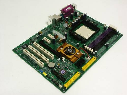 Материнская плата Epox EP-9NPA7I s939/4xDDR1/2xIDE/4xSATA/PCI-E б/у