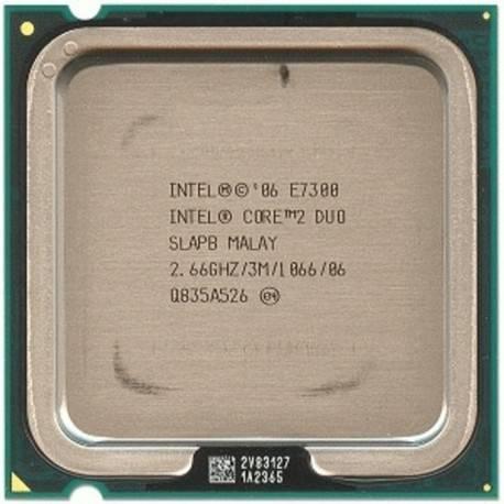 Процессор Intel s775 Core 2 Duo E7300 2x2.66GHz SLAPB б/у